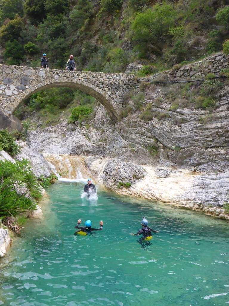 Canyoning Barbaira - Italie