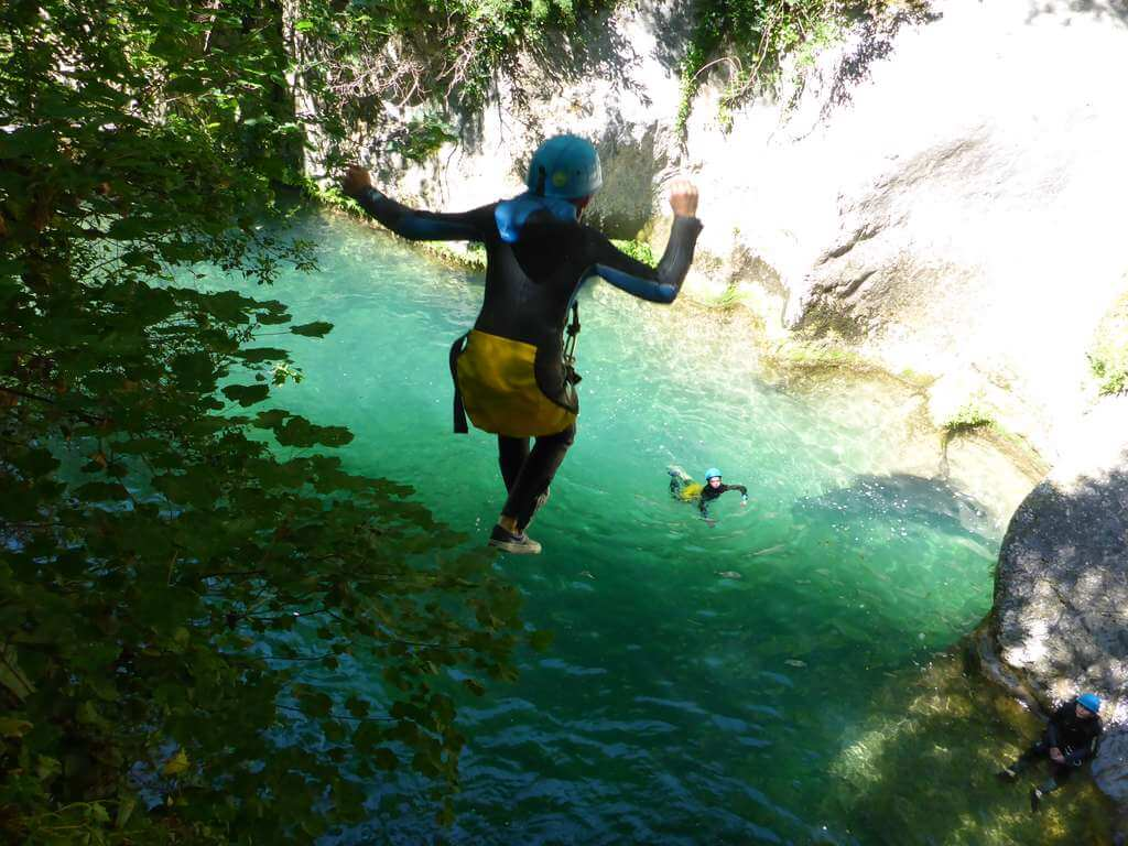 Canyoning Gorges du Loup