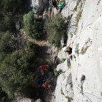 Séance escalade à la Turbie - ASSA Escalade