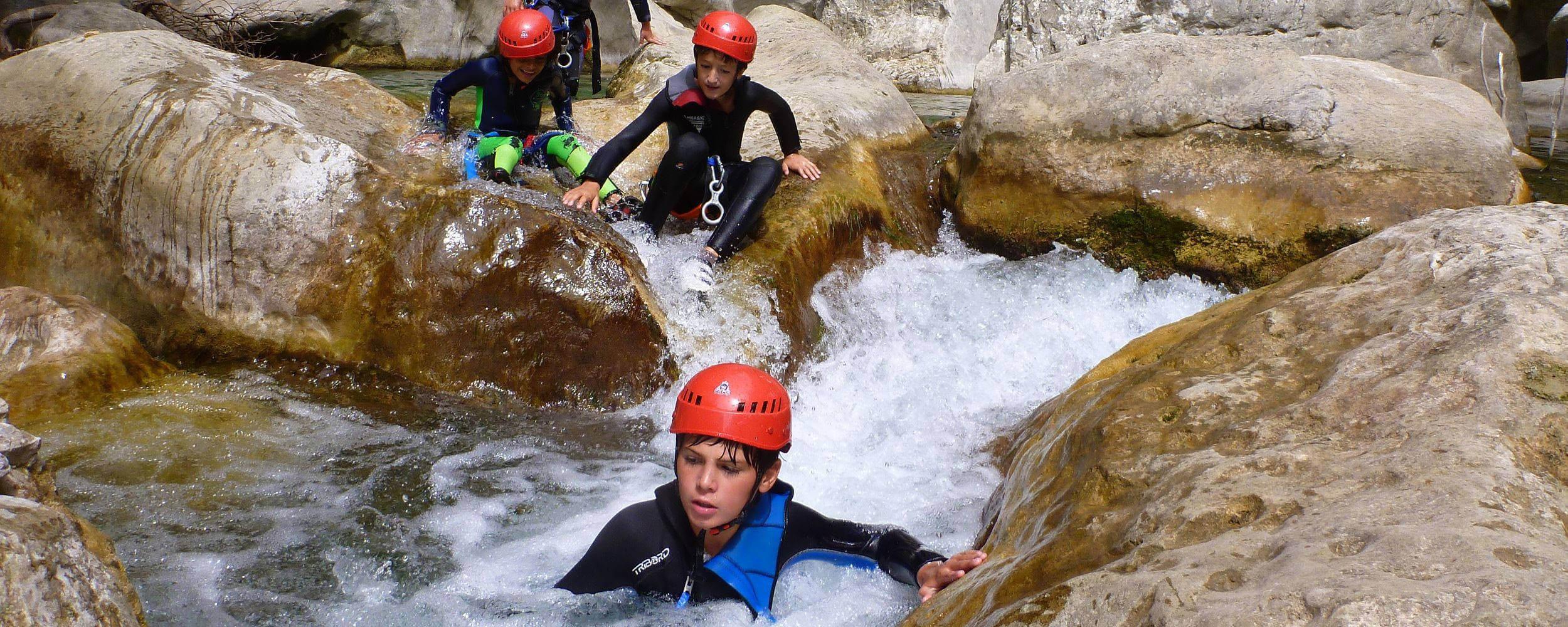 Randonnee aquatique des Gorges du Loup - Grasse