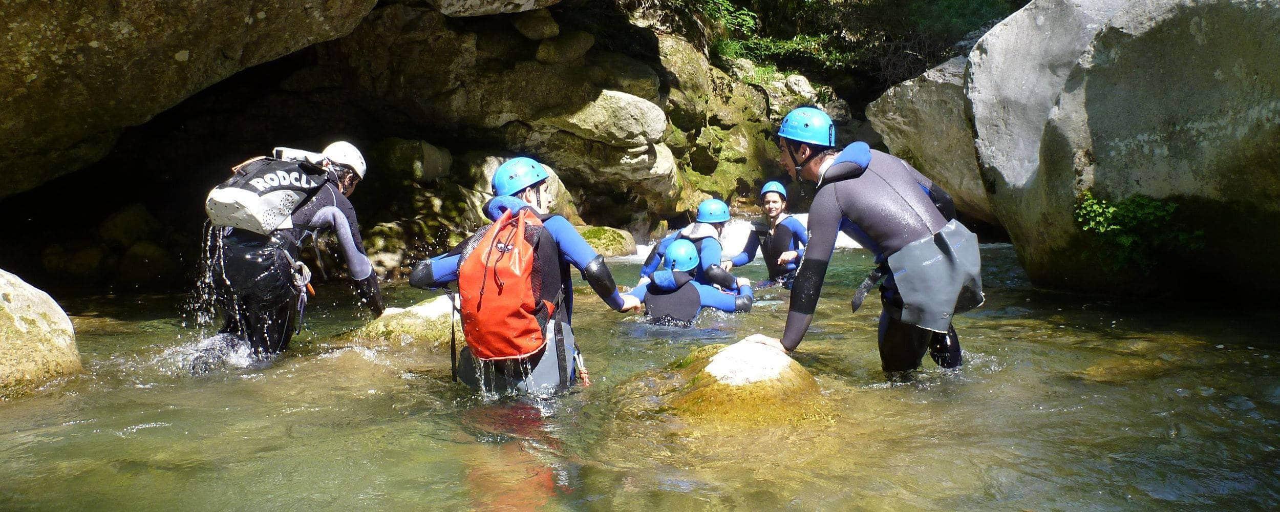 Marche aquatique des Gorges du Loup - Grasse