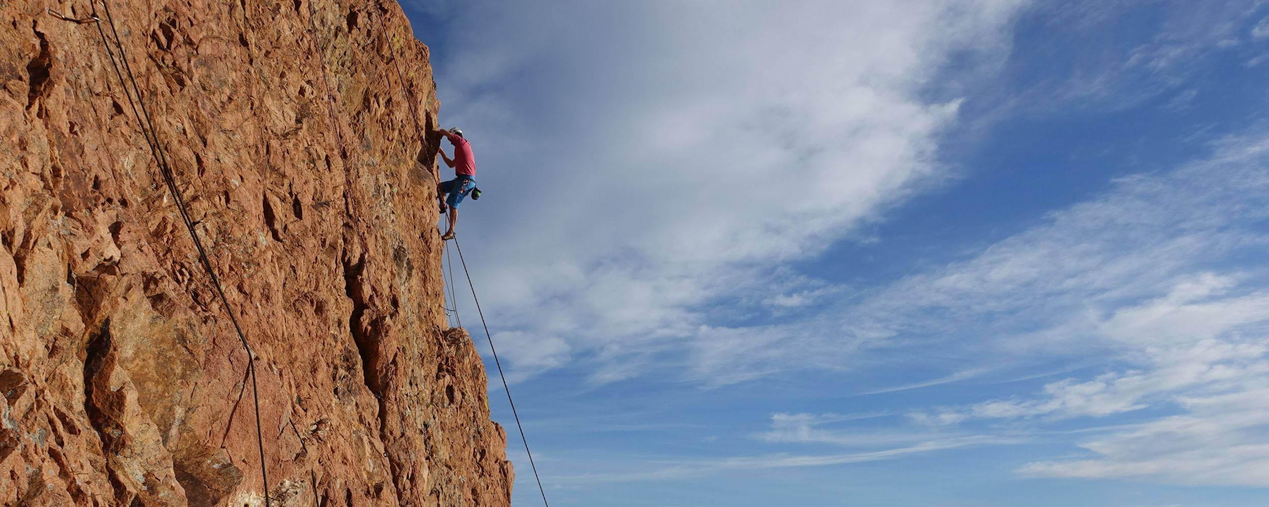 Escalade Cap Dramont - Estérel