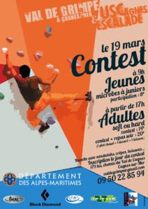 Contest escalade bloc val de grimpe - 19 mars 2016