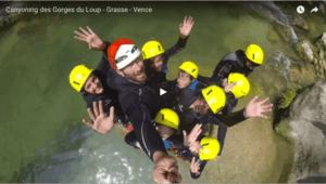Vidéo du canyoning des Gorges du Loup - Grasse