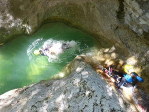 Canyoning Planfaé - Nice Alpes Maritimes