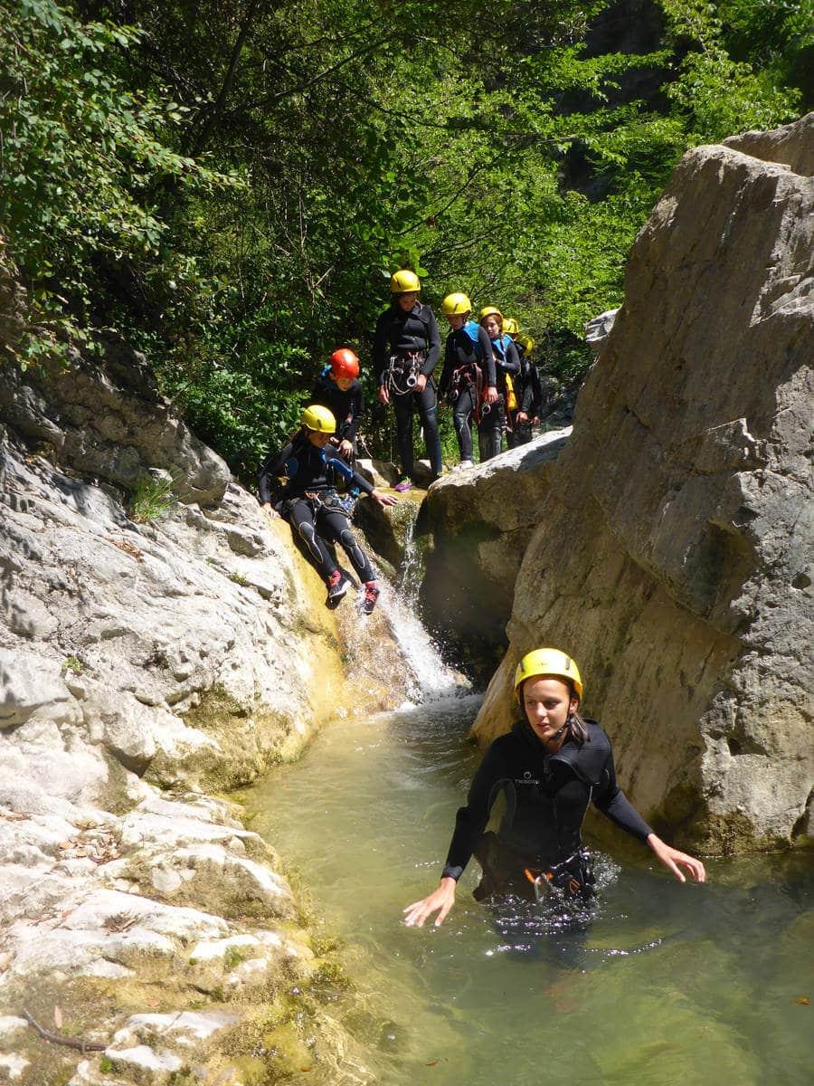 Canyoning Planfaé - Nice Alpes Maritimes