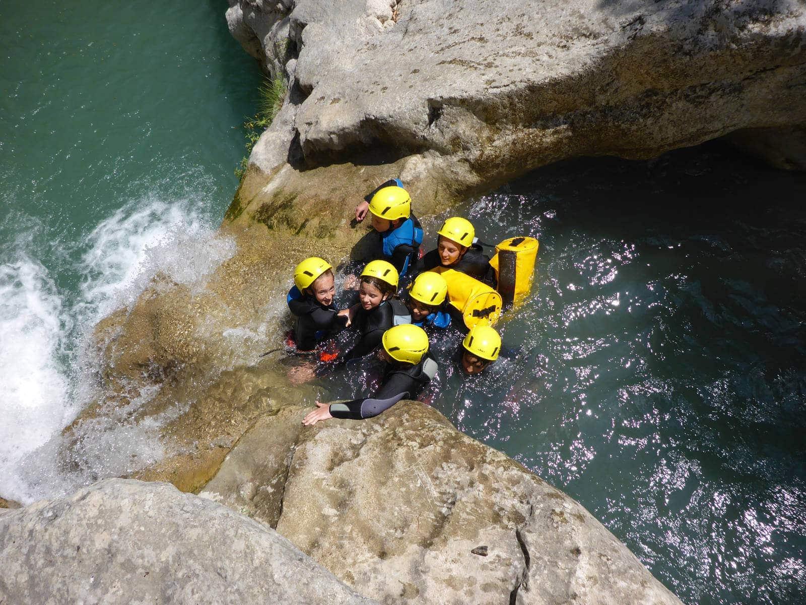 Canyoning Gours du Ray - Gorges du Loup - Grasse