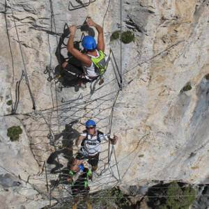 Via Ferrata Peille Turbie - Nice - Alpes Maritimes