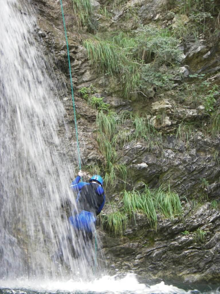 Canyoning Bollène - Vésubie - Lesgeckos