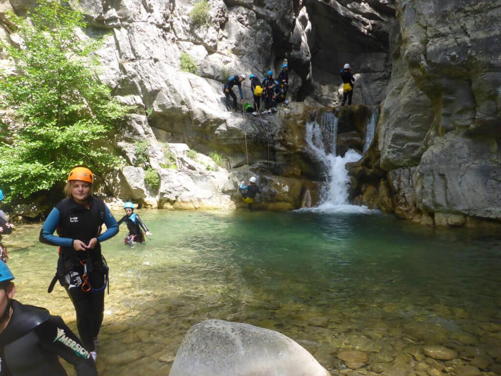 Canyon de Cramassouri - Alpes Maritimes