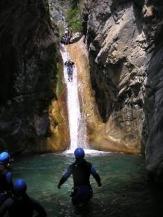 Canyon de la Maglia Alpes Maritimes - Lesgeckos