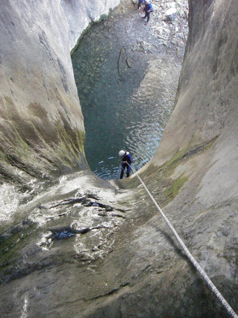 Canyoning Alpes Maritimes - Morghé Maglia