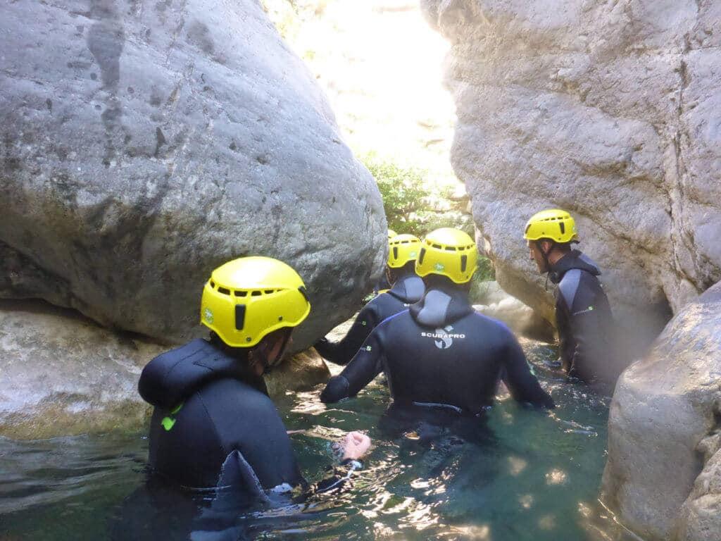 Canyoning Cramassouri - Nice