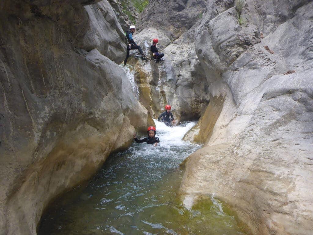 Canyoning Nice - Cramassouri