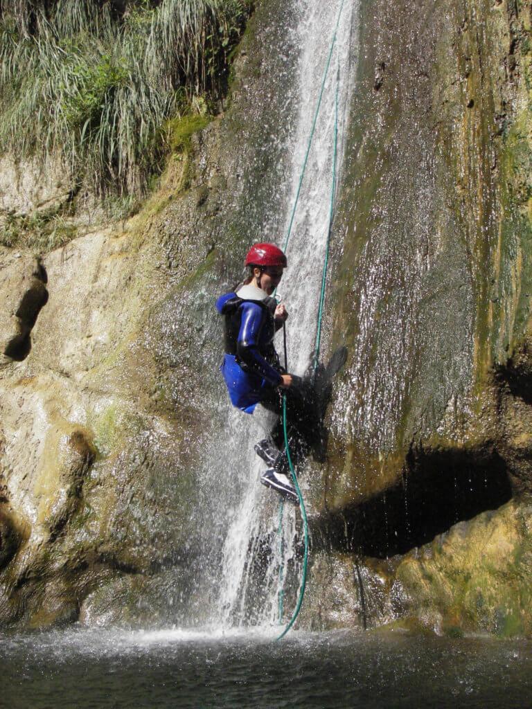 Descente du canyon de Cuébris - Lesgeckos