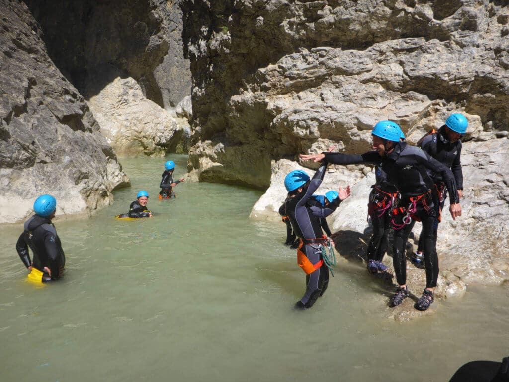 Le canyon du Riolan - Lesgeckos