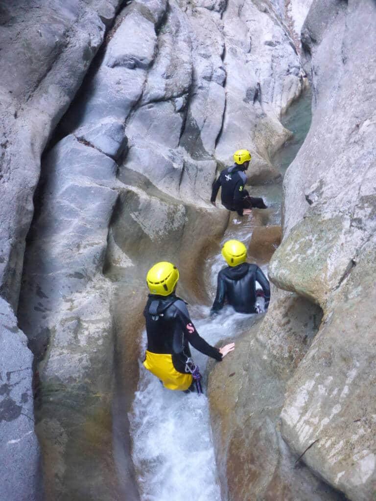 Canyoning de Cramassouri - Tinée