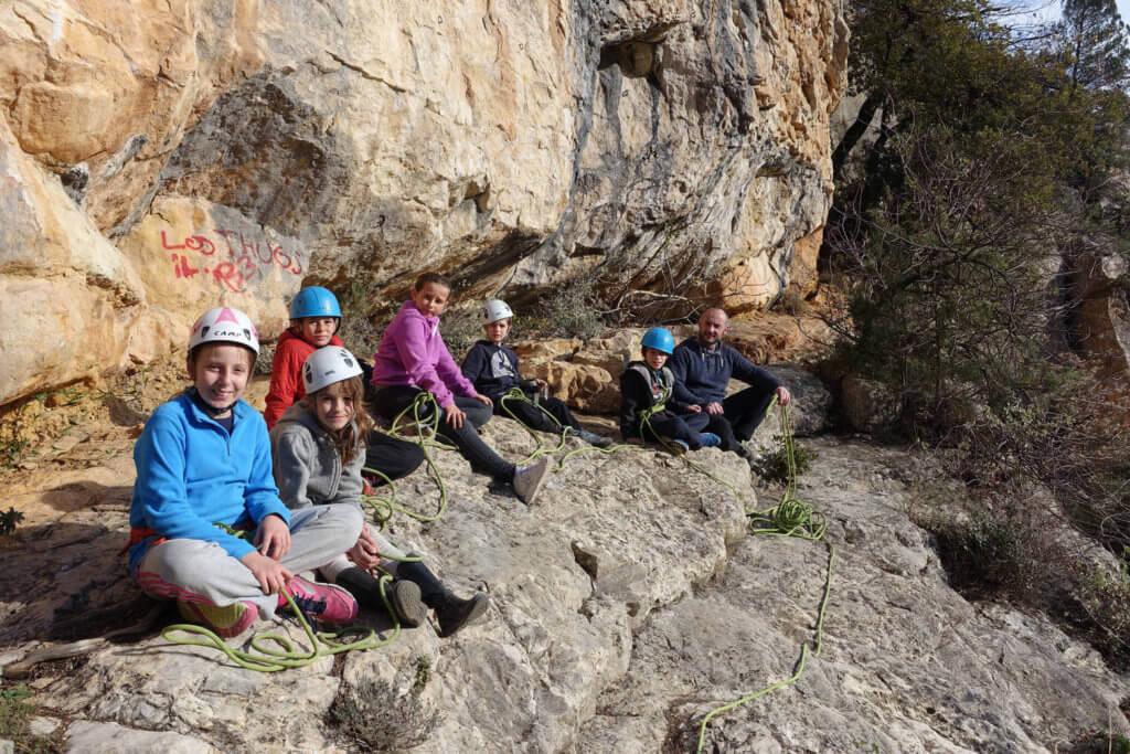 Parcours aventure escalade à Saint Jeannet