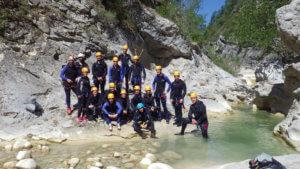 Canyoning Riolan - 2017