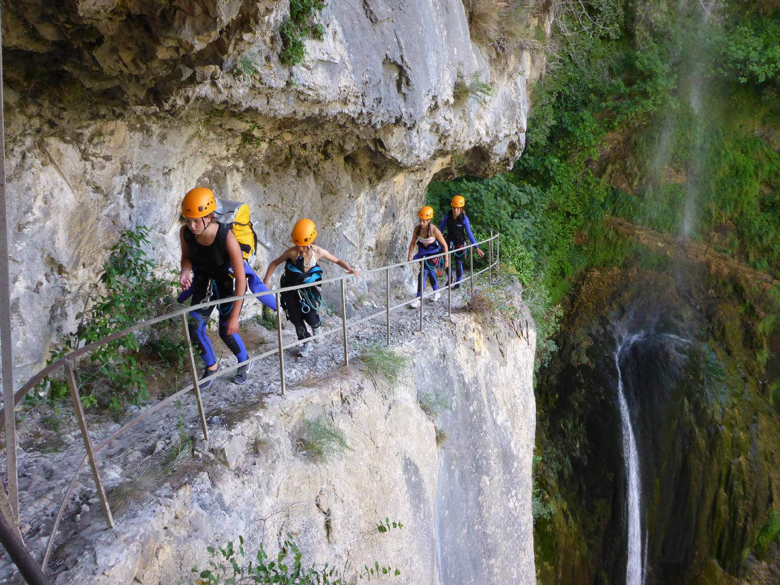 Canyoning Bes de Courmes - Marche d'approche