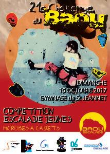 Compétition escalade Saint Jeannet 2017