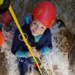 Descente en rappel canyoning - Lesgeckos