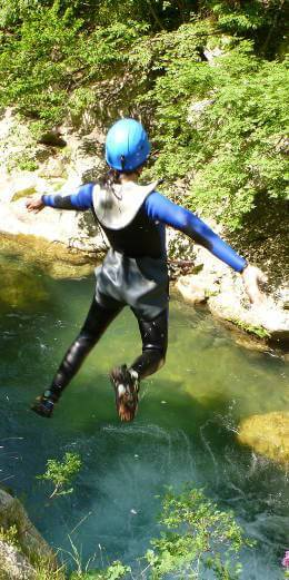 Canyoning avec Lesgeckos
