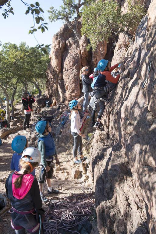 Escalade à la Capelle Amont - Lesgeckos