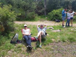 Escalade sur le site de Cabris - Grasse - Lesgeckos