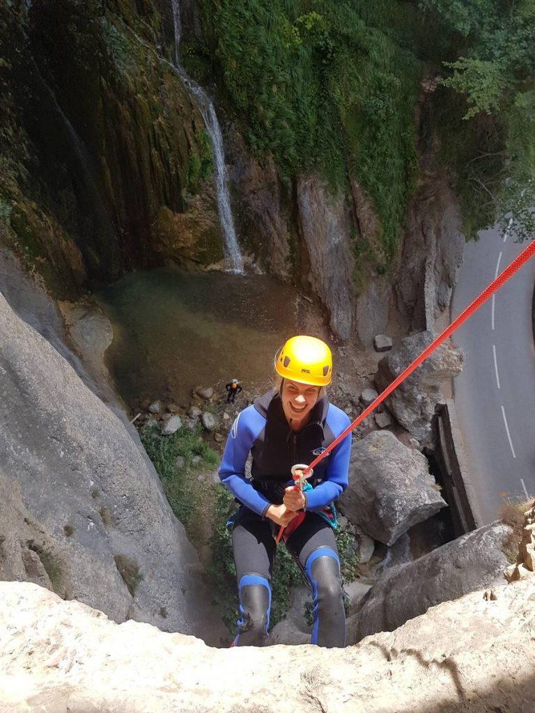 Canyoning de Courmes - Gorges du Loup - Lesgeckos