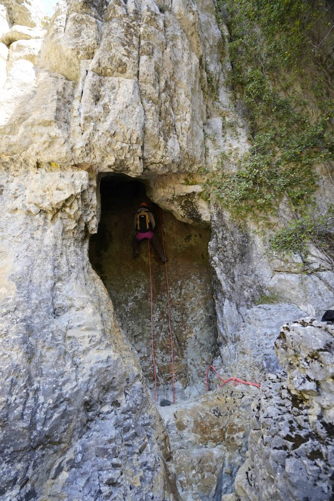 Canyon Sec - Clue de Gréolières - Vallée du Loup Alpes Maritimes