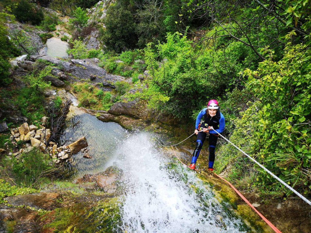 Canyoning - Clue de Gourdon - Vallée du Loup - LESGECKOS