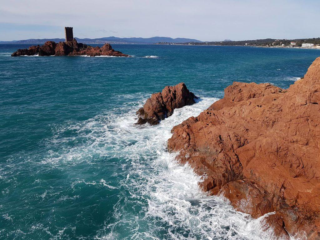 Via Cordata du Cap Dramont - Estérel - LESGECKOS