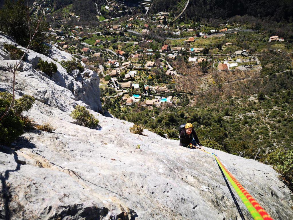 Escalade Grande Voie sur la Côte d'Azur - LESGECKOS