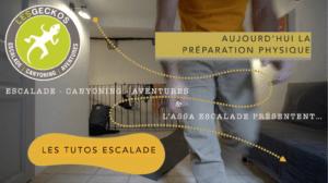 Prféparation Physique Escalade - Le Circuit Training - LESGECKOS