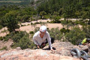 Escalade à la Capelle Amont - Estérel - LESGECKOS