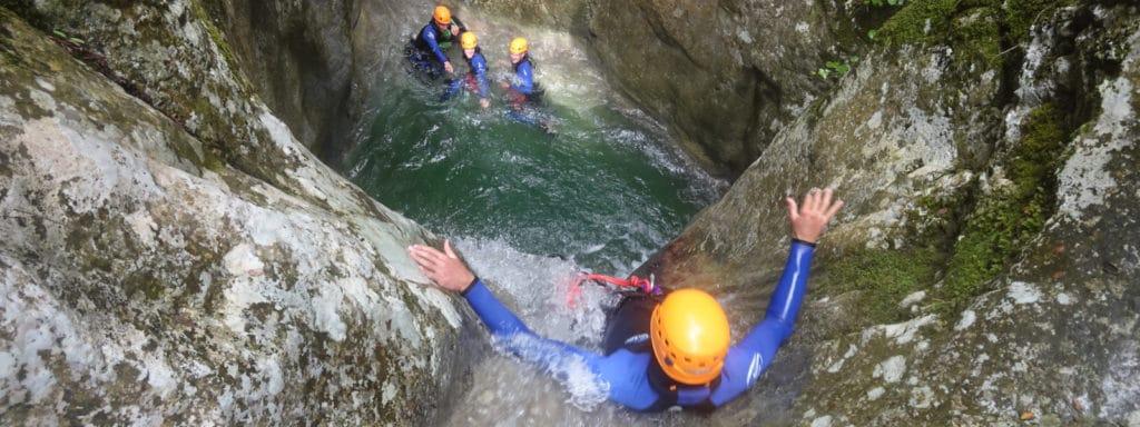 Canyoning Vallon Imberguet