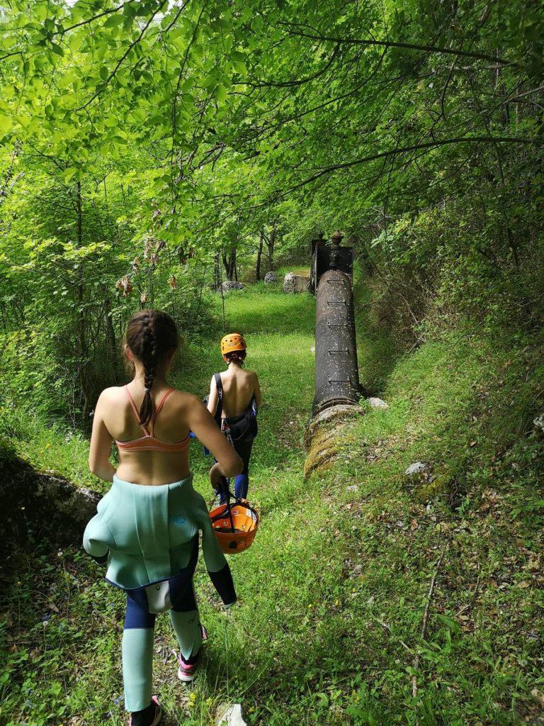 Canyon de la Gagnières - Gréolières
