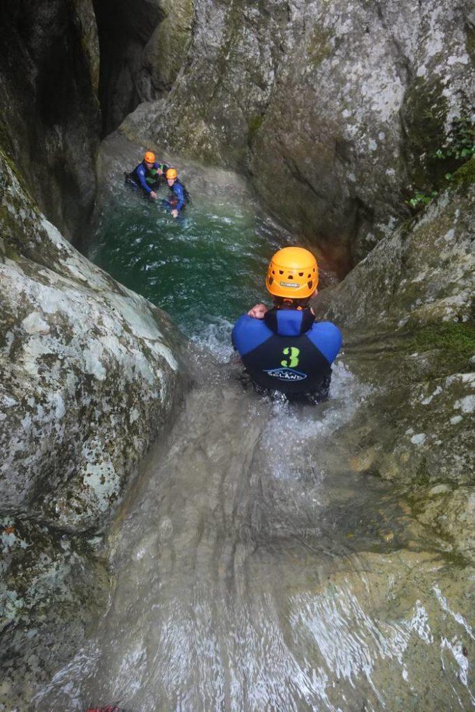 Descente en canyoning du Vallon de l'Imberguet - Vésubie